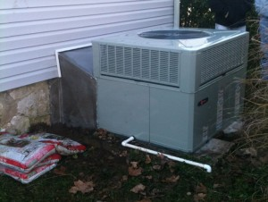 Trane XB13 Gas Package HVAC Unit