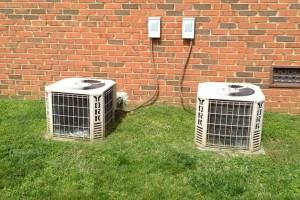 The homeowner had two york air conditioners that were installed when